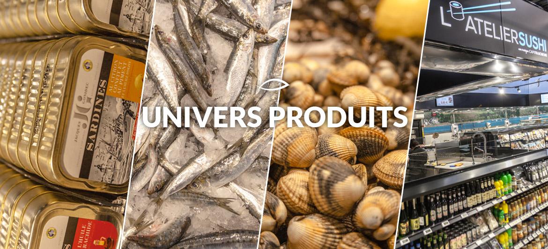 Univers produits