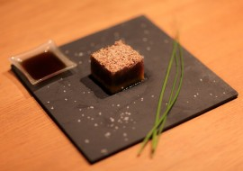 Cubes de thon à la mangue
