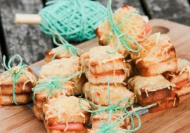 Mini Croque-saumon