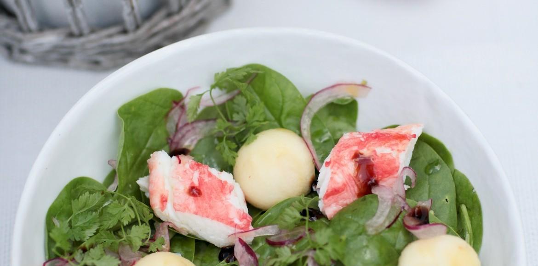 Salade King Crabe